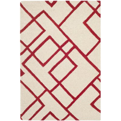 Soho Beige/Red Area Rug