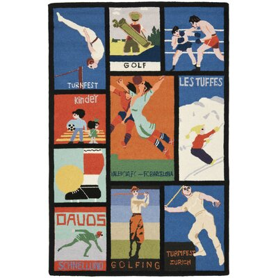 Vintage Posters Novelty Rug Rug Size: Rectangle 39 x 59