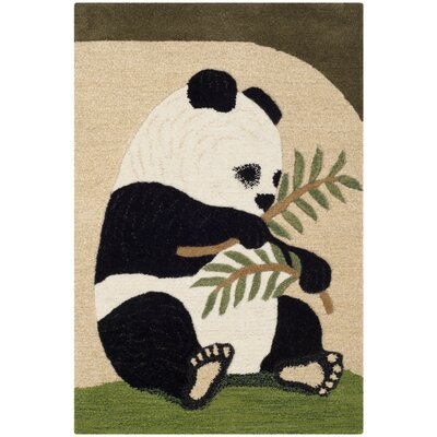 Wilderness Novelty Area Rug Rug Size: Rectangle 2 x 3