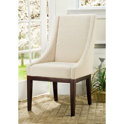 Sloping Armchair Upholstery: Cream