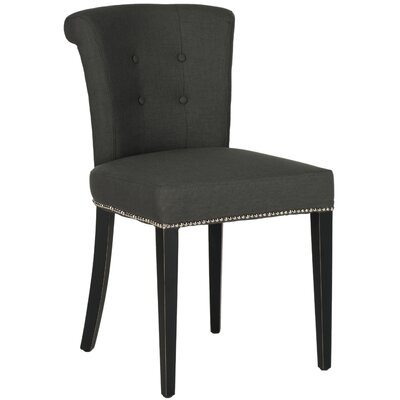 Arion Ring Side Chair Upholstery: Linen - Smoke Grey