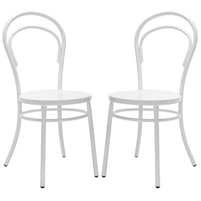 Richard Side Chair (Set of 2) Finish: Richard White image