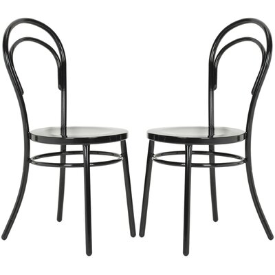 Richard Side Chair (Set of 2) Finish: Jane Black image
