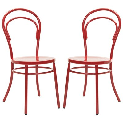 Richard Side Chair (Set of 2) Finish: Jane Red image