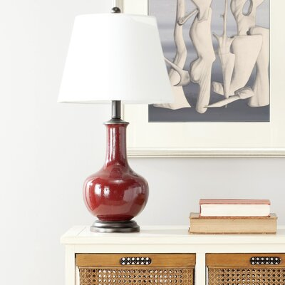 22 Table Lamp Color: Cammy Red