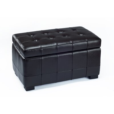 Ottoman Upholstery: Black