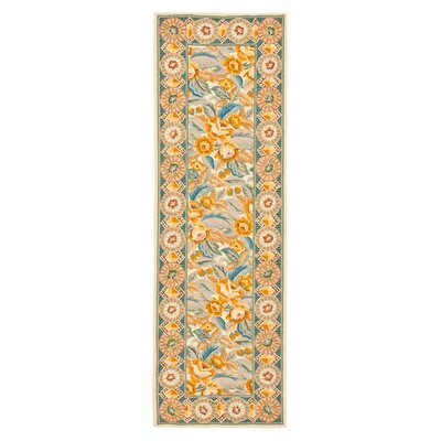 Chelsea Yellow / Ivory Area Rug