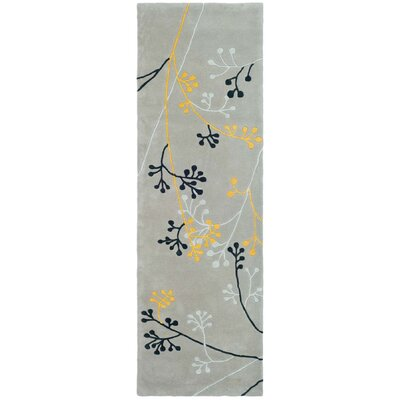 Soho Grey Area Rug Rug Size: Rectangle 10 x 10