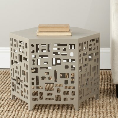Kelby End Table Finish: Pearl Taupe