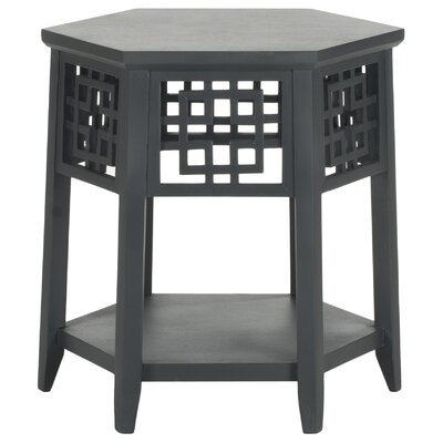 Zelda End Table Finish: Charcoal Grey