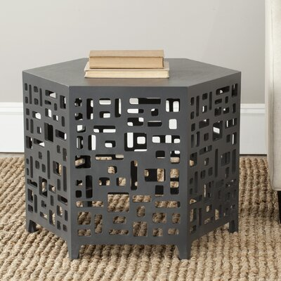 Kelby End Table Color: Charcoal Grey