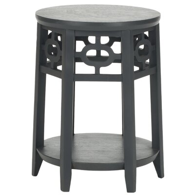 Adela End Table Color: Charcoal Grey