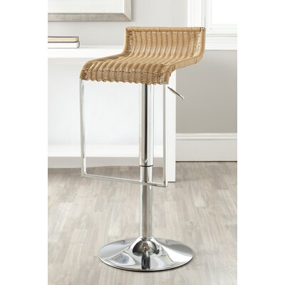 Zandrea Adjustable Height Swivel Bar Stool