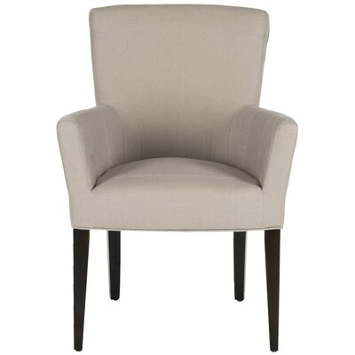 Dale Arm Chair Finish: Taupe