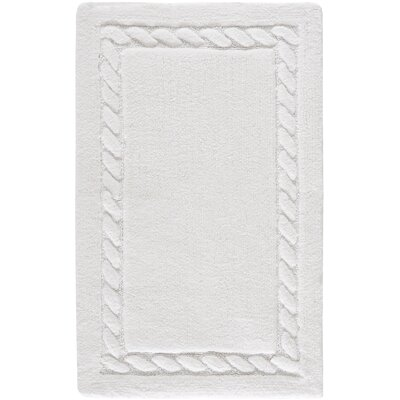 Newthorpe Bath Rug Size: 21 W x 34 L, Color: White