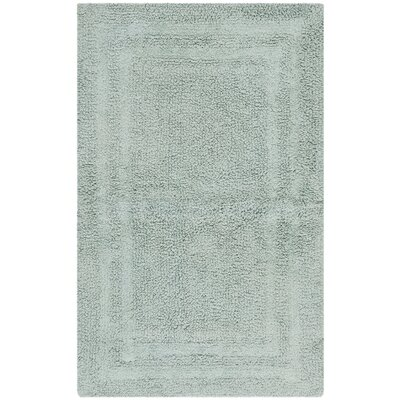 Plush Master Bath Rug V Color: Watery