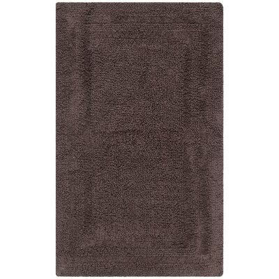 Plush Master Bath Rug V Color: Pincone Path