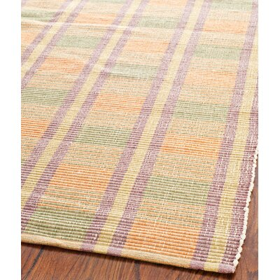 Penfield Purple/Green Area Rug Rug Size: 4 x 6