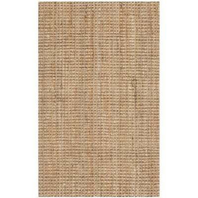 Safavieh Natural Fiber Jute Sisal Brown Area Rug - Rug Size: Square 4'