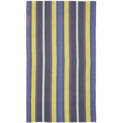 Penfield Purple/Blue Area Rug Rug Size: 6' x 9'