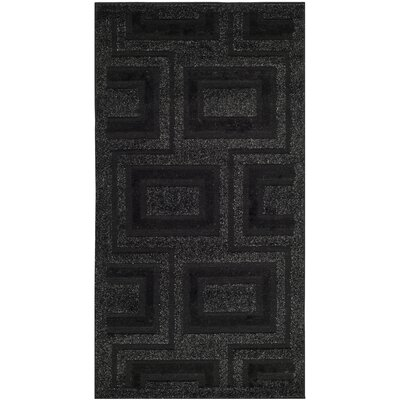 York Charcoal Area Rug Rug Size: Rectangle 27 x 5