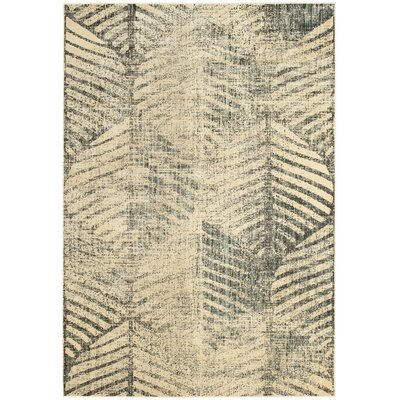 Vintage Light Grey Rug Rug Size: Rectangle 53 x 76