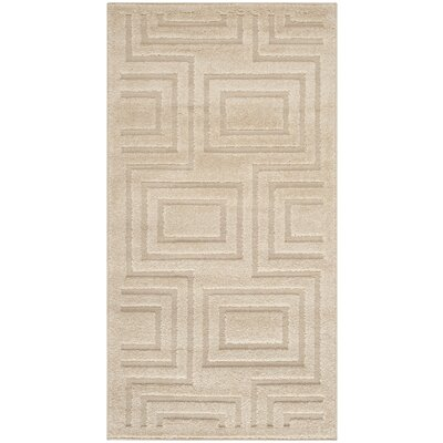 York Brown/Tan Area Rug Rug Size: Rectangle 27 x 5