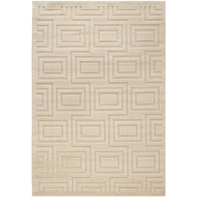 York Brown/Tan Area Rug Rug Size: 53 x 77