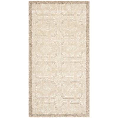 York Brown/Tan Area Rug Rug Size: Rectangle 27 x 5