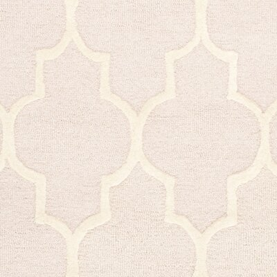 Cambridge Light Pink Area Rug Rug Size: Rectangle 6 x 9