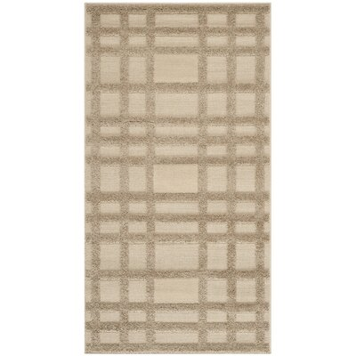 York Beige Area Rug Rug Size: Rectangle 27 x 5