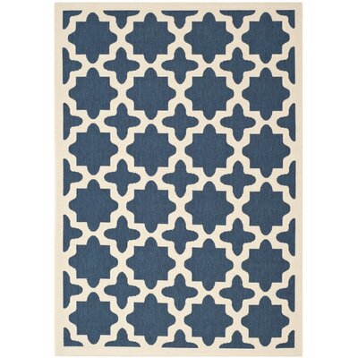 Osgood Blue Indoor/Outdoor Area Rug Rug Size: Rectangle 67 x 96