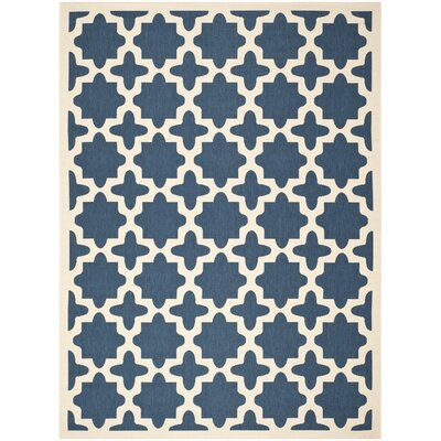 Osgood Blue Indoor/Outdoor Area Rug Rug Size: Rectangle 8 x 11