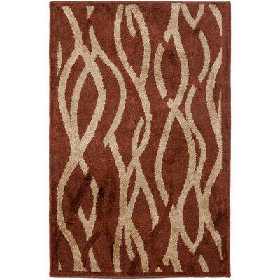 Kashmir Rust / Ivory Rug Rug Size: 5 x 8