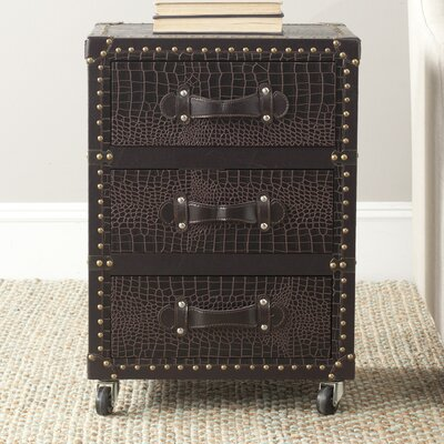 Lloyd 3 Drawer Rolling Chest