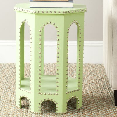 Nara Stool Finish: Light Green