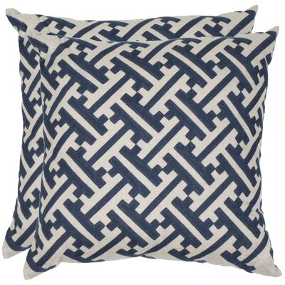 Brendan Linen Throw Pillow Size: 18 H x 18 W