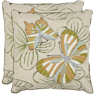 Casandra Cotton Throw Pillow