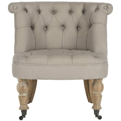Carlin Slipper Chair Upholstery: Taupe