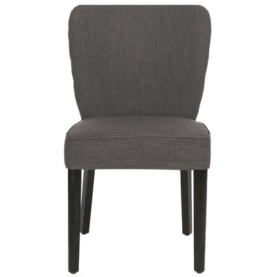 Clifford Side Chair Upholstery: Charcoal Brown