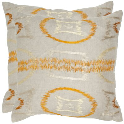 Reese Linen Throw Pillow Size: 22