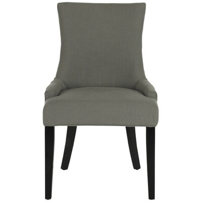 Lester Side Chair Upholstery/Color: Granite/Espresso
