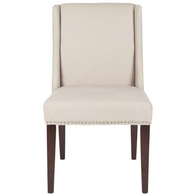 Humphry Side Chair Color: Taupe