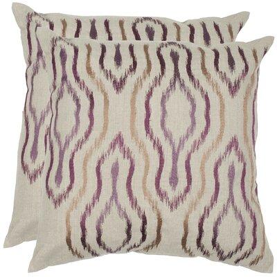 Quinn Linen Throw Pillow Size: 22