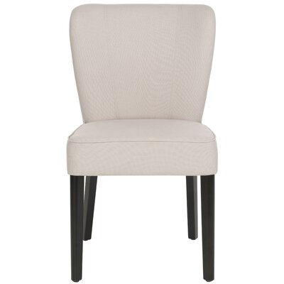 Clifford Side Chair Upholstery: Taupe