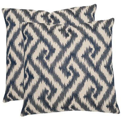 Safavieh Teddy Cotton Decorative Pillow (Set of 2) - Size: 22