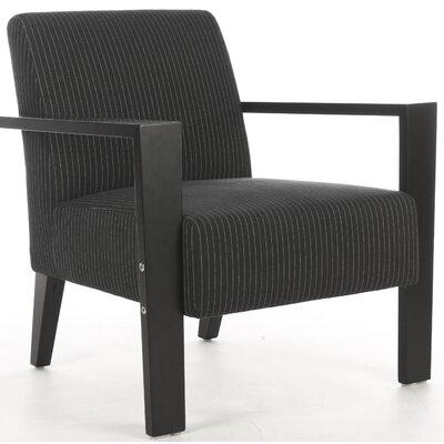 Jenna Armchair Upholstery: Black