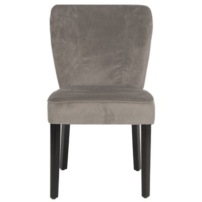 Clifford Side Chair Upholstery: Mushroom Taupe