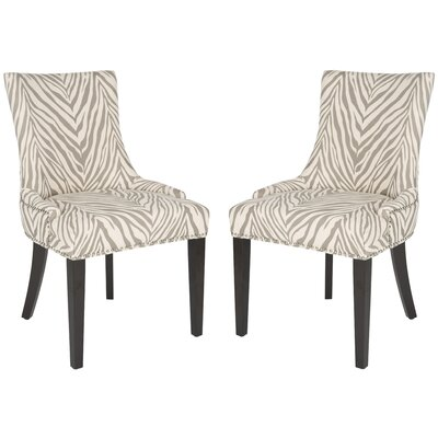 Lester Side Chair Upholstery: Light Gray
