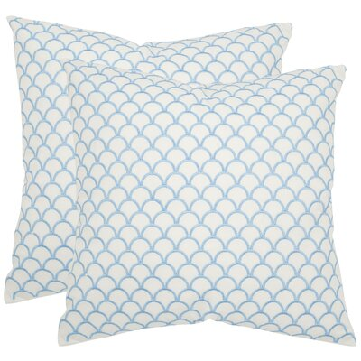 Nikki Cotton Throw Pillow